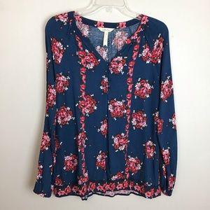 Matilda Jane floral blouse in Medium.